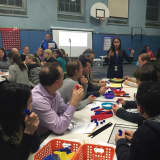 Siwanoy Elementary School Hosts Family Math Night