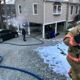 Garage Fire Quickly Extinguished In Brookfield