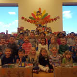 Yorktown's Goddard School Collects 434 Pounds Of Food For Church