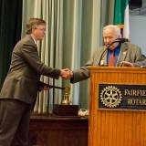Fairfield Rotary Says Hats Off To Economic Development Director