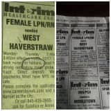 Pennysaver 'No Haitians' Help Wanted Ad Sparks Outrage