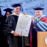 Dr. Anthony: Bourdain Gets Honorary Degree From Culinary Institute