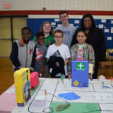 Pace University Students Help Elmsford Fourth-Graders Learn STEM Skills