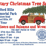 Bedford-Armonk Rotary Club Kicks Off Christmas Tree Sale