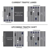 Major, Temporary Shift Of Rockland-Bound New Tappan Zee Bridge Traffic Scheduled