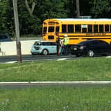 Kids OK After Mini-Cooper Rear-Ends School Bus On Route 4 In Hackensack