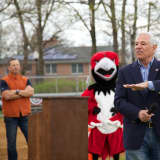 Bobby Valentine Joins Englewood Cliffs Little League For Opening Day