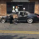 PHOTOS: No One Hurt In Hawthorne Sedan Explosion