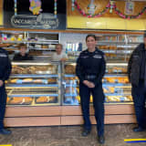 'We Take Care Of Our Own': Port Authority Police Give Back To NJ Rookie's Family Bakery