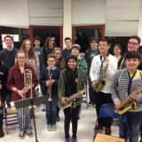 White Plains Jazz Band Performs At Fordham Basketball Game