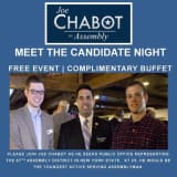 Meet Assembly Candidate Joe Chabot Tonight In Nyack