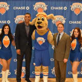 Astorino Welcomes 'Hudson,' Westchester Knicks' New Mascot