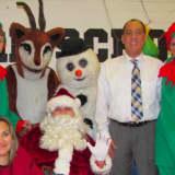 Cliffside Park Firefighters Escort Santa To School For Storytime