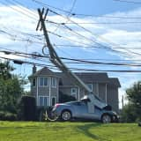 Police: DWI Driver From PA Demolishes Utility Pole In North Jersey