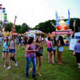 Monroe Volunteer Fire Department Sets Up For Annual Carnival