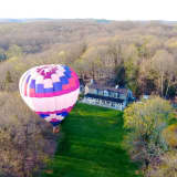 Balloon Trip Helps Ginnel Agent Showcase Bedford Property
