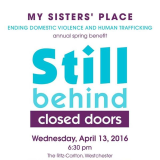 My Sister's Place Hosting Annual Spring Benefit