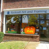 Ridgefield Parks & Rec Invites Teens To Paint Store Windows For Halloween