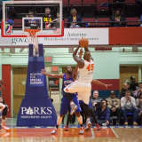 Varsity Basketball Teams Face Off Before Westchester Knicks Game