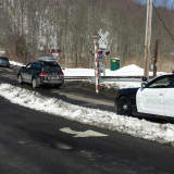 Driver Backs Up Over Gate After Car Gets Stuck At Chappaqua Train Crossing