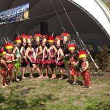 Polynesian Dance Troupe Performs At Chaski Fest In Danbury