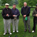 Stamford Golf Outing Benefits SilverSource, Honors Probate Judge