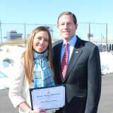 Sen. Blumenthal Honors Greenwich Teen For Her Social Activism