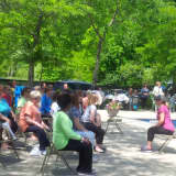 Fairview Library Hosting Chair Yoga Class