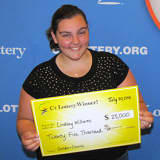 College Student Wins $25,000 From Scratch-Off Ticket Purchased In Danbury