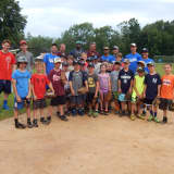 Yankees' Shortstop Didi Gregorius Visits Somers' Summer Trails Day Camp