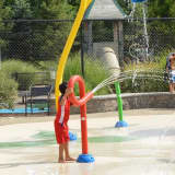 Spray Bay Offers A Place To Splash Away While Cooling Off In Ridgefield