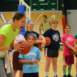 Rebecca Lobo Presents Fairfield Girls Hoops Clinic To Combat Cancer