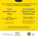 Sign Up For Two Yoga Seminars In Katonah