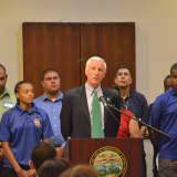Mayor Finch Focuses Bridgeport On Pre-K Access, Crime Reduction