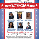 Democratic Primary Mayoral Debate To Take Place In Wartburg