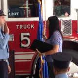 Wilton Swears In Four New Firefighters