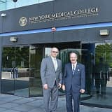 Rep. Engel Visits NY Medical College's Valhalla, Hawthorne Facilities