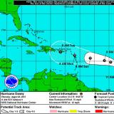 Hurricane Danny Is Heading West Toward Puerto Rico
