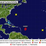 Tropical Storm Danny Headed To Northern Caribbean