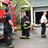 Firefighters Battle Fire At House In Irvington