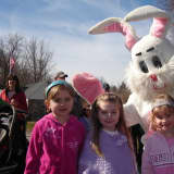 Hunt For Easter Eggs In Yorktown's Downing Park