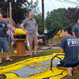 Nichols Fire Department Trains In Water Rescue