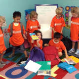 Preschoolers Fill Backpacks For Hackensack's Center For Hope And Safety