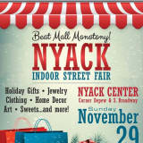 Holidays Nyack-Style Offer Art Decorations, Indoor Market
