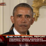 Tearful Obama Evokes Newtown As He Issues Executive Actions On Guns