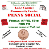 Lake Carmel Hosts Annual Penny Social