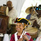 African Drummers Highlight Pinkster Festival