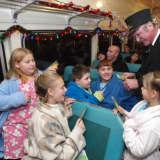Hop Aboard 'The Polar Express' At Somers Library