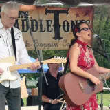 Miss Laurie Ann And The SaddleTones Perform in Pompton Lakes