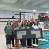 Yorktown School Pool Boasts New $20K Electronic Scoreboard